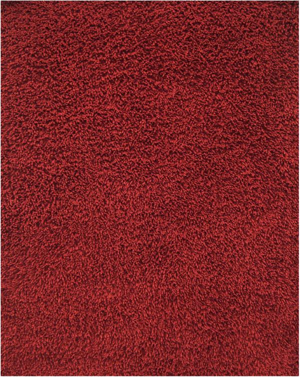Bamboo Shag Area Rugs Amb0652 Crimson