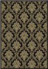 Central Oriental Radiance Tapestry 2069 Black