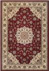 Couristan Traditions 9657Namur 1565 Ruby Ivory