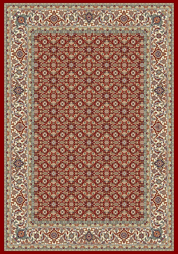 Ancient Garden 57011 1414 Red By Dynamic Rugs