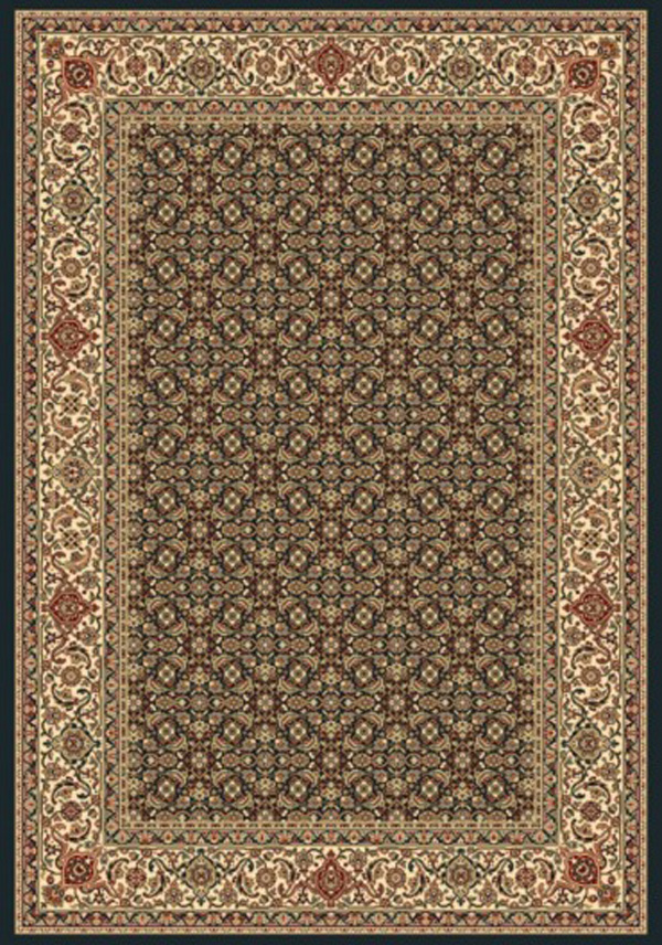 Ancient Garden 57011 3464 Navy By Dynamic Rugs