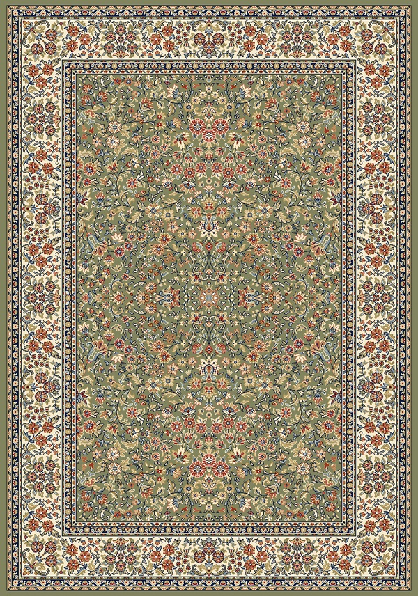 Ancient Garden 57078 4444 Green Ivory By Dynamic Rugs