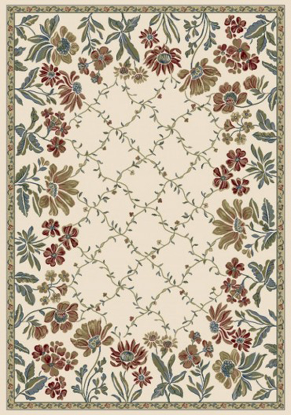 Ancient Garden 57084 6464 Ivory By Dynamic Rugs