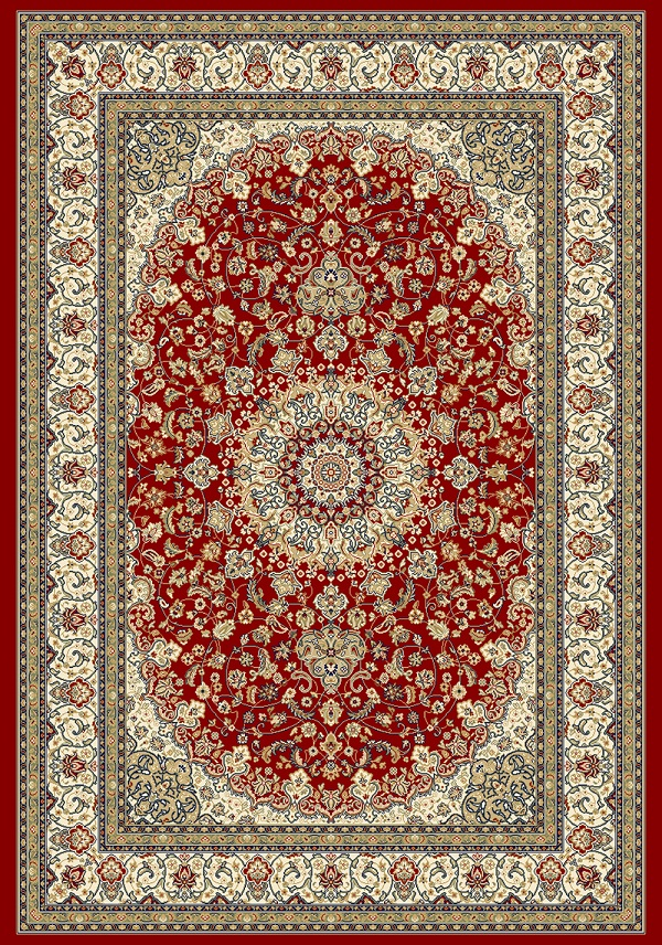 Ancient Garden 57119 1414 Red Ivory By Dynamic Rugs