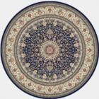 Dynamic Rugs Ancient Garden 57119 3434 Blue Ivory