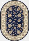 Dynamic Rugs Ancient Garden 57365 3464 Blue Ivory