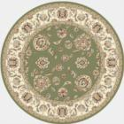 Dynamic Rugs Ancient Garden 57365 4464 Green Ivory