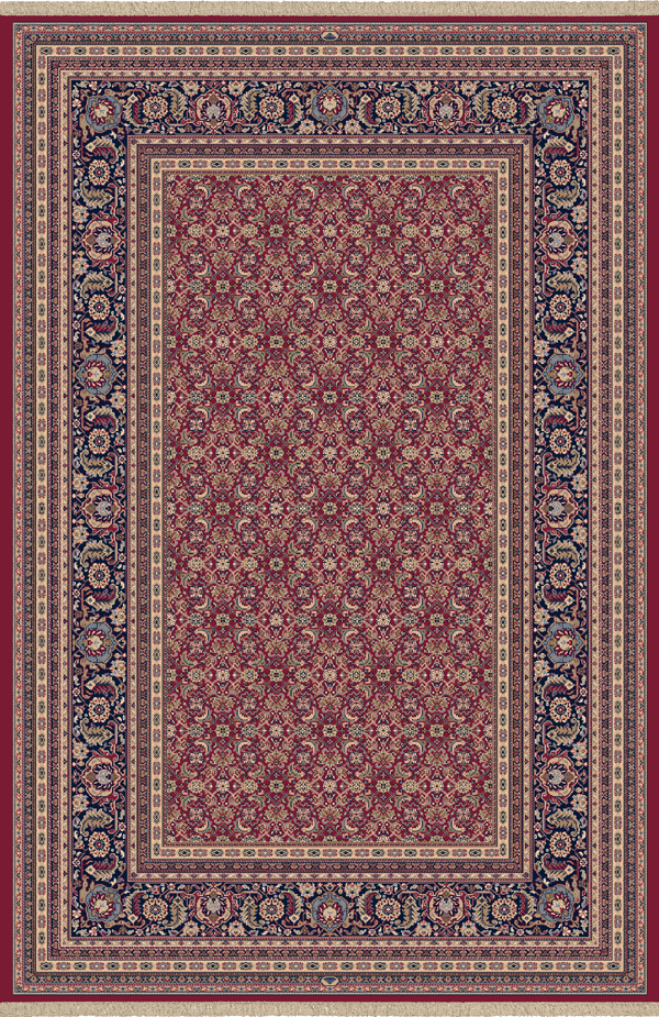 Brilliant 72240 330 Red By Dynamic Rugs