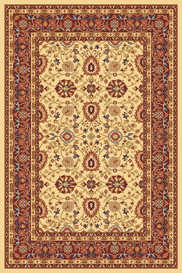 Yazd 2803 130 Cream Red By Dynamic Rugs