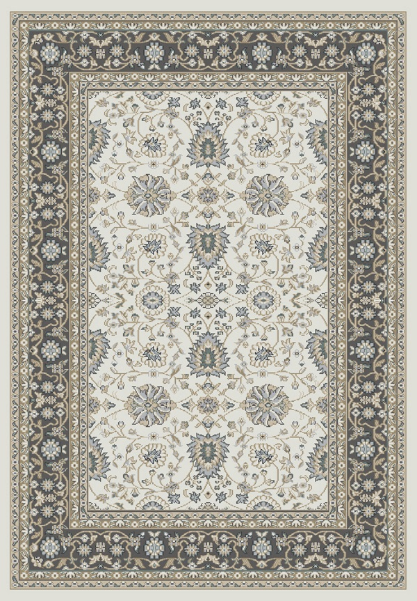 Yazd 2803 190 Ivory Grey By Dynamic Rugs