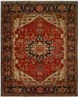 Harounian Antique Heriz 103 Red Blue