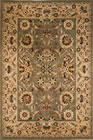 KAS Cambridge Kashan 7304 Green Taupe