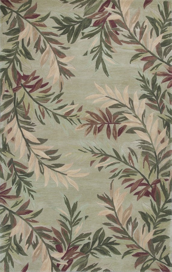 Sparta Tropical Branches 3144 Sage By Kas Oriental Rugs