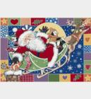 Milliken Seasonal Inspirations Winter PatchworkSanta4533 Atlantic 276