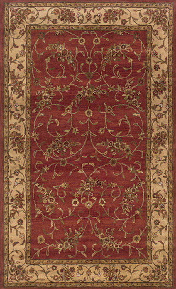 Craft Cf 816 Cranberry By Rizzy Rugs