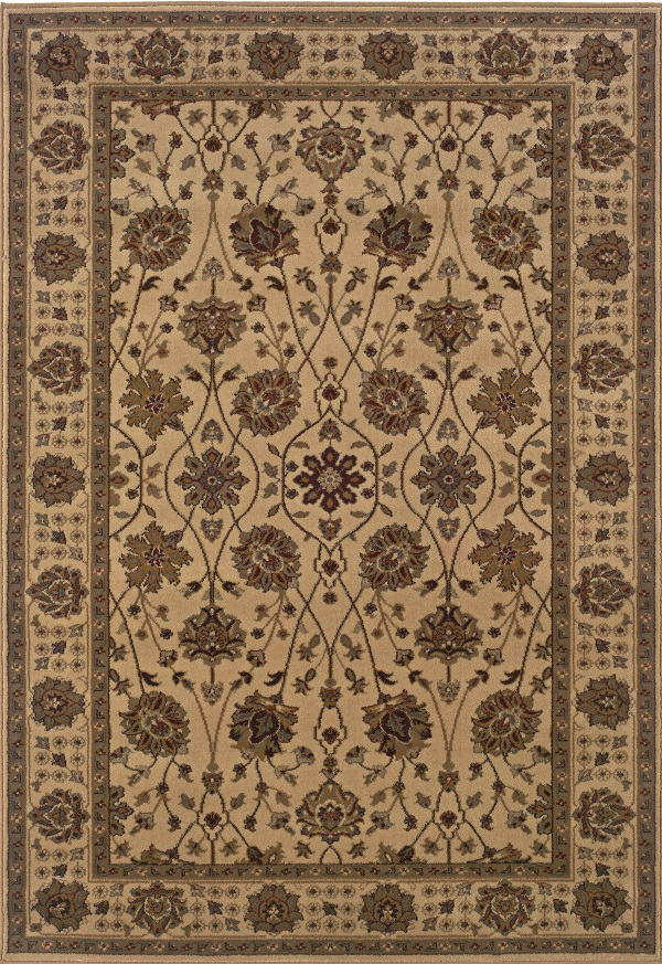 Tybee 733i Beige Green By Sphinx Oriental Weavers
