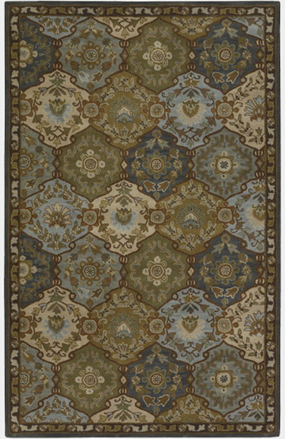 Caesar Cae 1032 Blue Green By Surya Carpet Inc