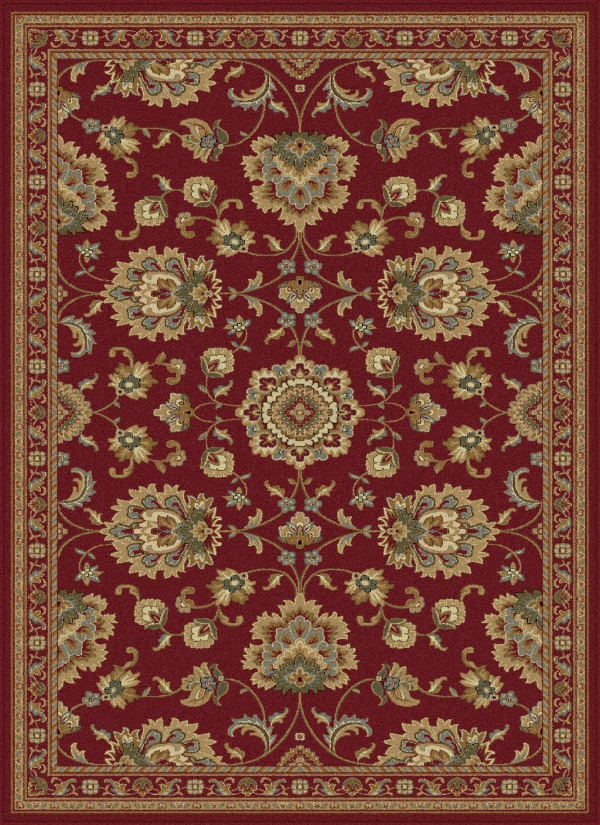 Sensation 4850 Red By Tayse Rugs